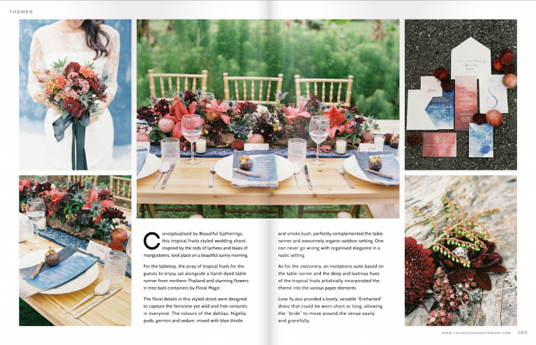 Feature with The Wedding Notebook
