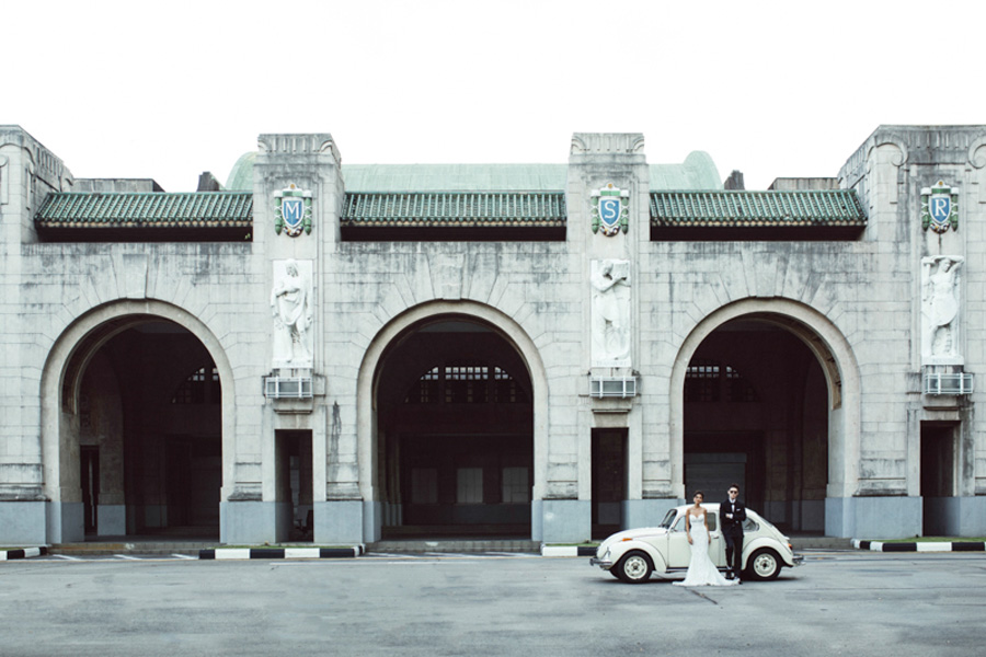 Feature on Wedding Scoop – Romance in the Train Station